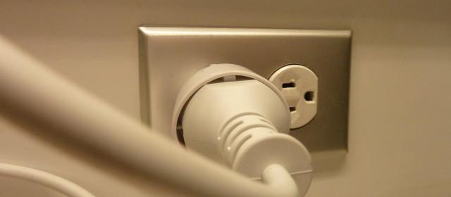 Consejo de electricidad: cambio de un enchufe